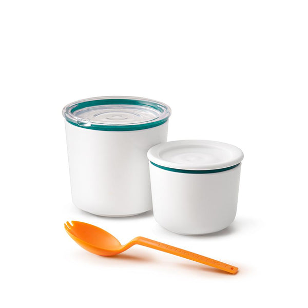 Lunch Pot - White/Ocean, PERSONAL, BLACK+BLUM, - Fabrica