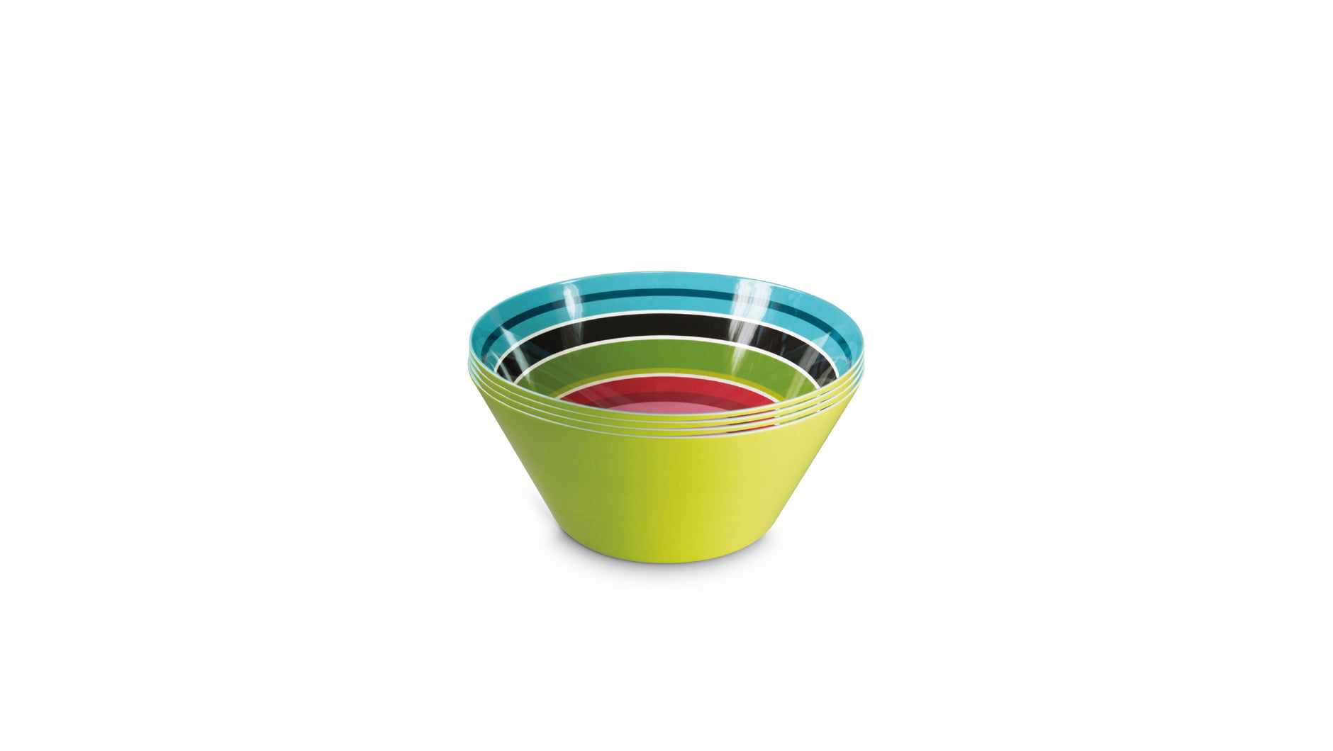 "Bowl Small ""Stripy"" (set of 4), KITCHENWARE, REMEMBER®, - Fabrica"