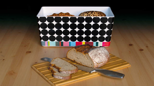 "Bread Box With Bamboo Lid ""Scoop"", KITCHENWARE, REMEMBER®, - Fabrica"