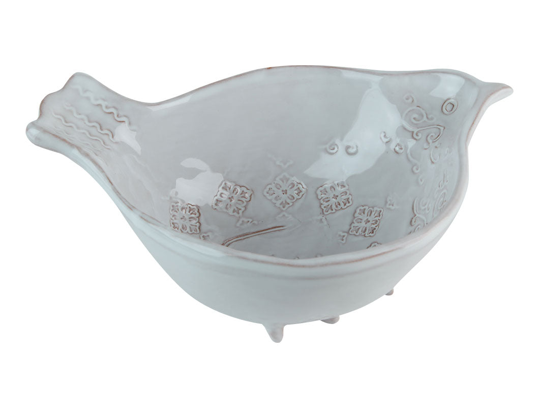 Natale Bird Cereal Bowl - White, KITCHENWARE, VIRGINIA CASA, - Fabrica