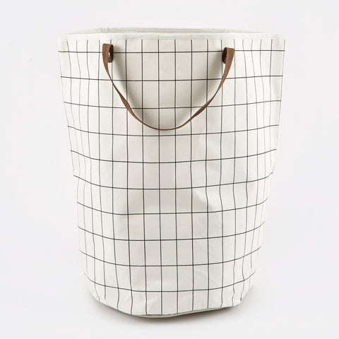 Grid Laundry Basket, BASIC, FERM, - Fabrica