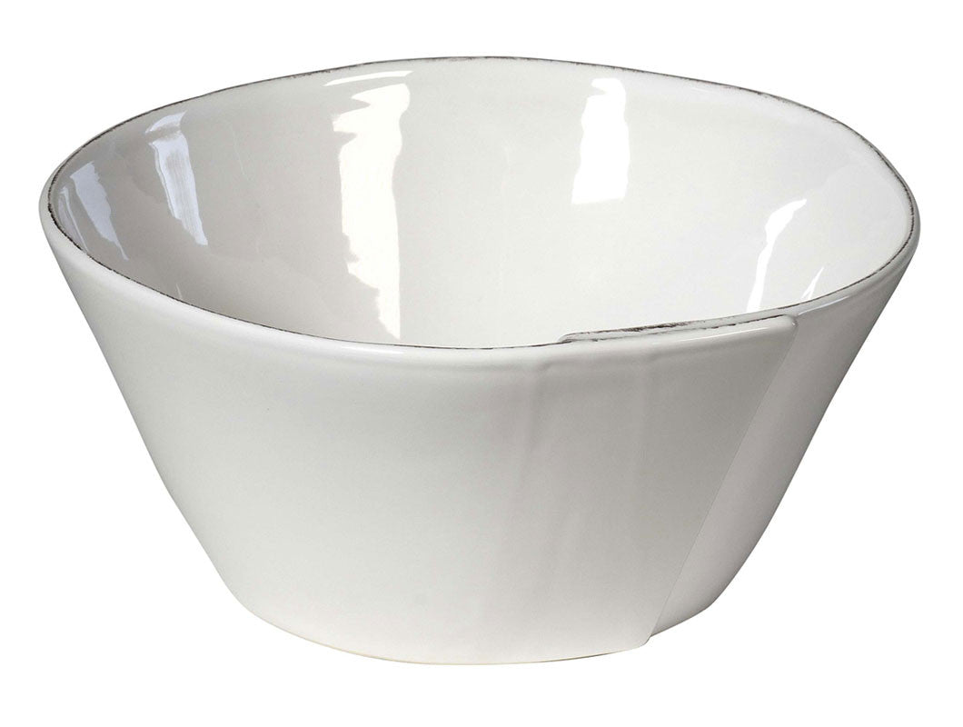 Lastra Small Conic Salad Bowl White, KITCHENWARE, VIRGINIA CASA, - Fabrica