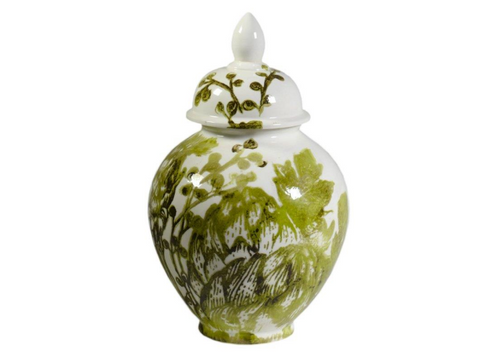 Acanto Small Covered Jar, HOME DECOR, VIRGINIA CASA, - Fabrica