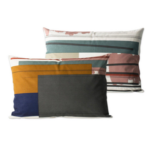 Colour Block Cushion - Large 2, HOME DECOR, FERM, - Fabrica
