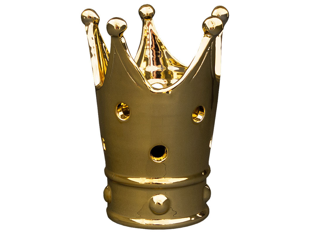 Regale Crown Bottle Holder - Gold, HOME DECOR, VIRGINIA CASA, - Fabrica