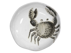 Marina Decorated soup plate With Crab, KITCHENWARE, VIRGINIA CASA, - Fabrica