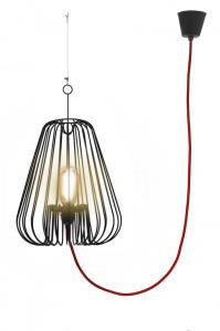 Small Black Light Cage, LIGHTING, LA CORBEILLE EDITIONS, - Fabrica