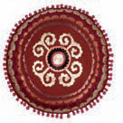 Laki Suzani Crimson Cushion, HOME DECOR, NIKI JONES, - Fabrica