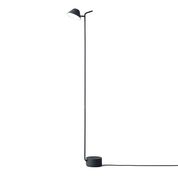 Peek Floor Lamp in Black Coated Steel, LIGHTING, MENU, - Fabrica