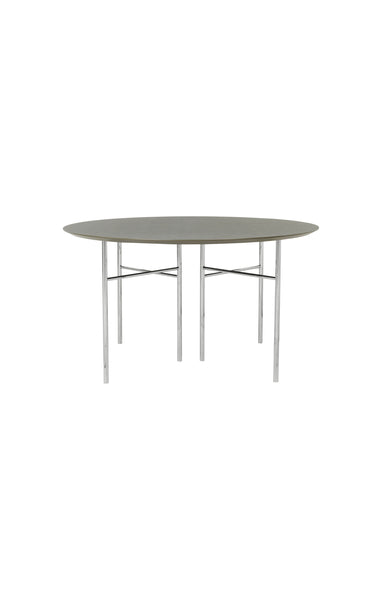 MINGLE TABLE TOP ROUND BLACK VENEER