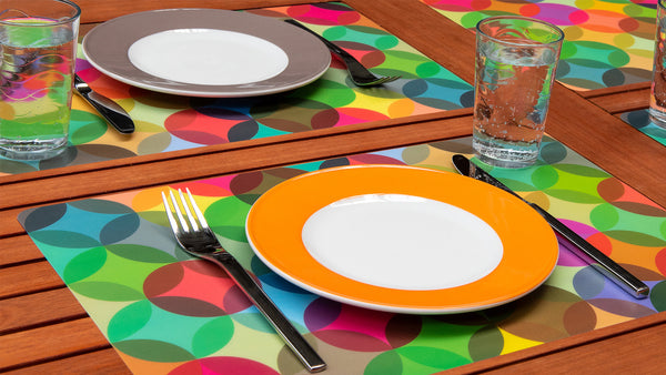 "Placemats ""Fiesta"" (set of 4), KITCHENWARE, REMEMBER®, - Fabrica"