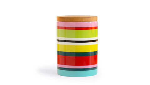 "Porcelain Canister Small ""Verano"", KITCHENWARE, REMEMBER®, - Fabrica"