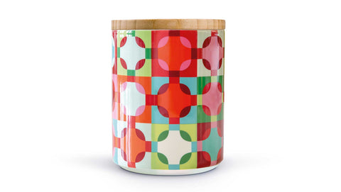 "Porcelain Canister With Wooden Lid ""Amelie"", KITCHENWARE, REMEMBER®, - Fabrica"