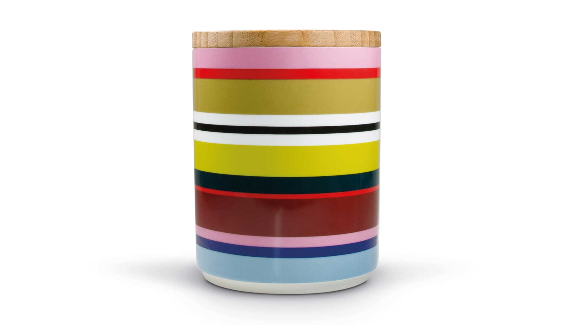 "Porcelain Canister With Wooden Lid ""Verano"", KITCHENWARE, REMEMBER®, - Fabrica"