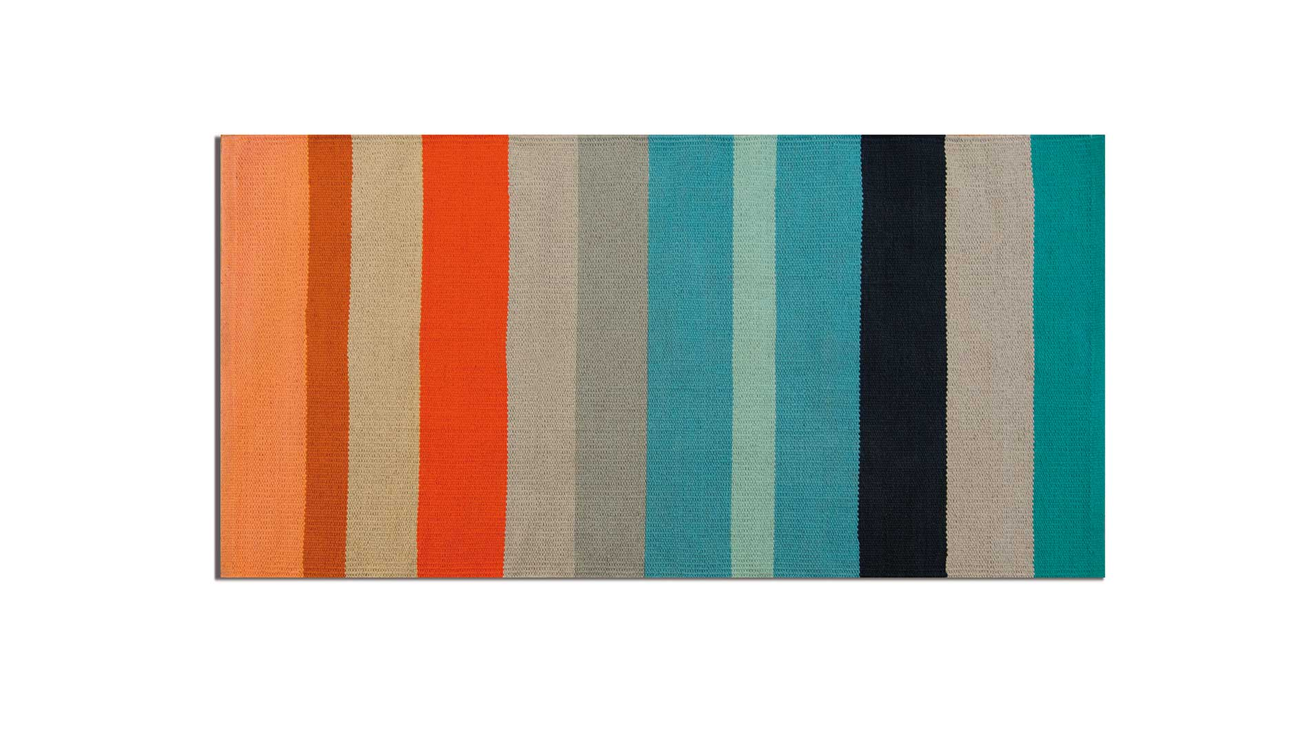 "Cotton Rug ""Sandy Stripes"" Short, HOME DECOR, REMEMBER®, - Fabrica"