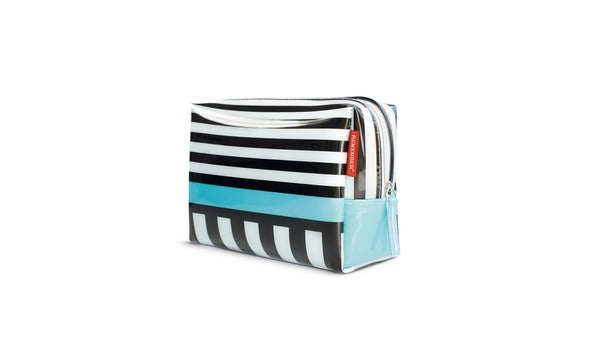 "Washbag Small ""Black Stripes"", BATHROOM, REMEMBER®, - Fabrica"