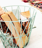 Wire Basket - Medium - Mint, HOME DECOR, FERM, - Fabrica