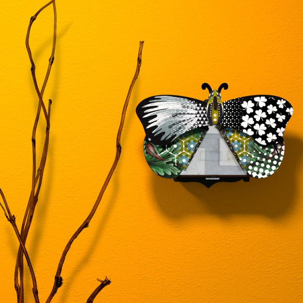 Butterfly Small With Mirror - Aida, HOME DECOR, MIHO UNEXPECTED, - Fabrica