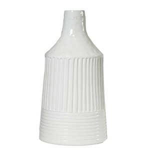Bottiglieria-Large Bottle Vase-White