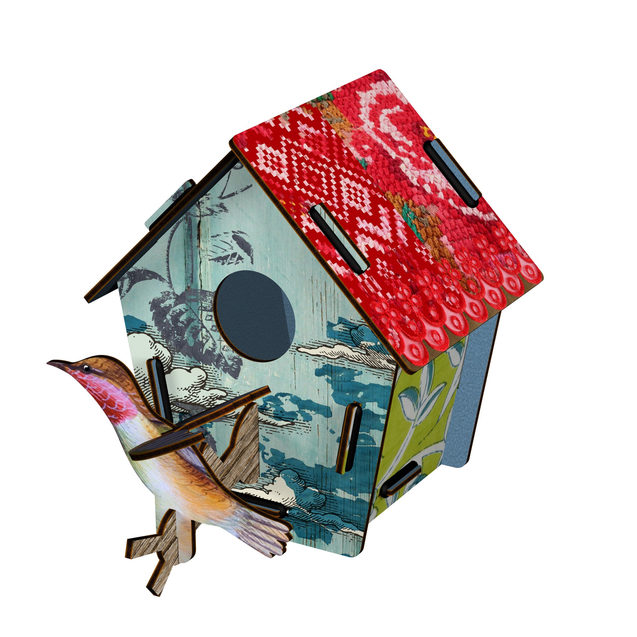 Bird House Small - Takeoff, HOME DECOR, MIHO UNEXPECTED, - Fabrica