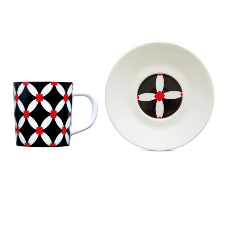 "Espresso Cup+Saucer ""Elise"", KITCHENWARE, REMEMBER®, - Fabrica"