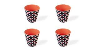 "Melamine Cups ""Elise"" (set of 4), KITCHENWARE, REMEMBER®, - Fabrica"