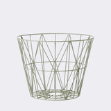 Wire Basket - Medium - Dusty Green, HOME DECOR, FERM, - Fabrica