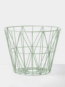 Wire Basket - Large - Mint, HOME DECOR, FERM, - Fabrica