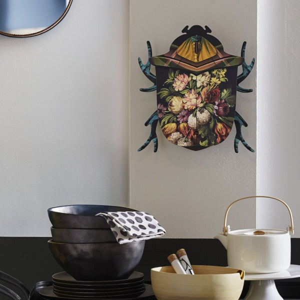 Decorative Beetle Medium With Mirror - Keith, HOME DECOR, MIHO UNEXPECTED, - Fabrica