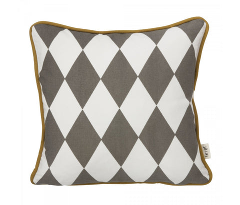 Little Geometry Cushion - Grey, HOME DECOR, FERM, - Fabrica
