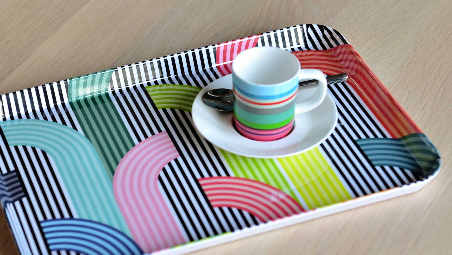 "Tray ""Memphis"", KITCHENWARE, REMEMBER®, - Fabrica"