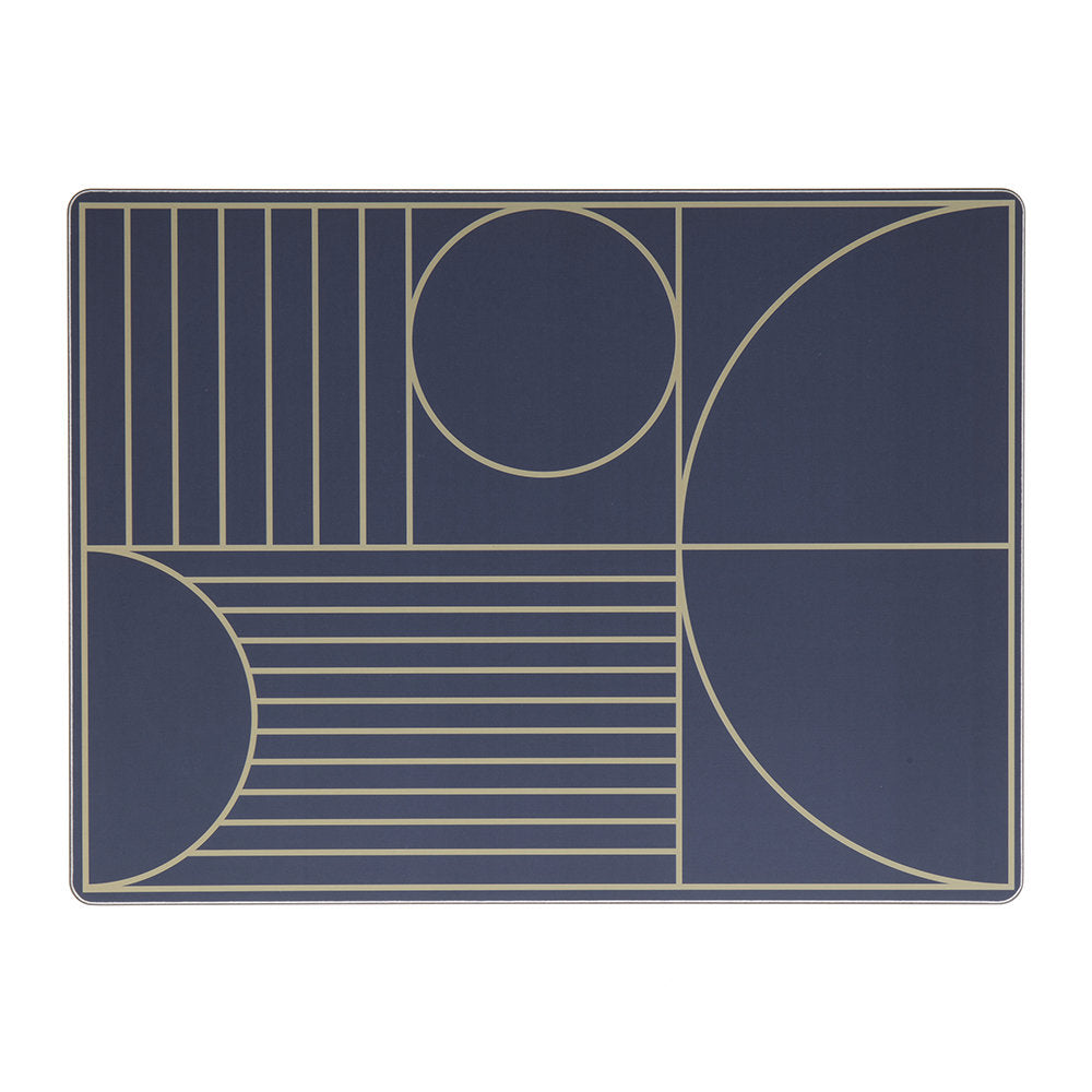 Outline dinner mat - Dark Blue, HOME DECOR, FERM, - Fabrica
