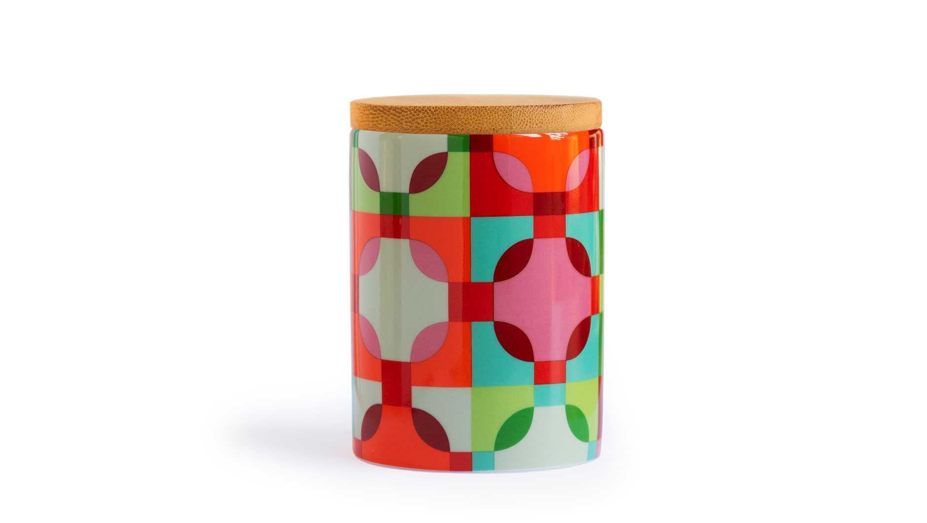 "Porcelain Canister Small ""Amelie"", KITCHENWARE, REMEMBER®, - Fabrica"