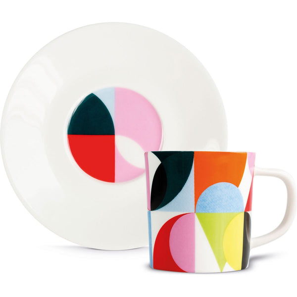 "Espresso Cup+Saucer ""Solena"", KITCHENWARE, REMEMBER®, - Fabrica"