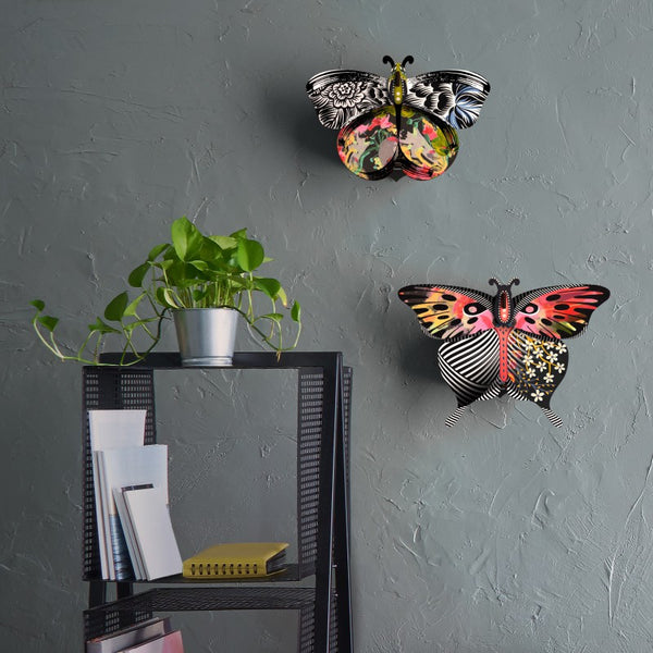 Butterfly Small With Mirror - Violetta, HOME DECOR, MIHO UNEXPECTED, - Fabrica