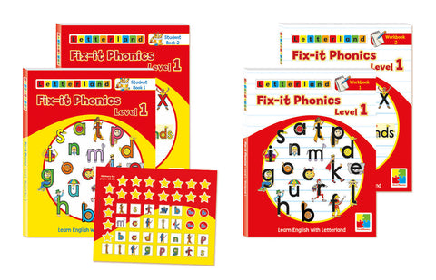 Fix-it Phonics - Level 1 - Student Pack