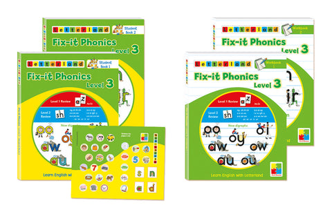 Fix-it Phonics - Level 3 - Student Pack