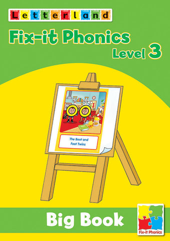 Fix-it Phonics - Level 3 - Big Book