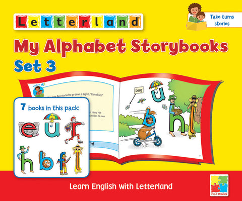 My Alphabet Storybooks Set 3