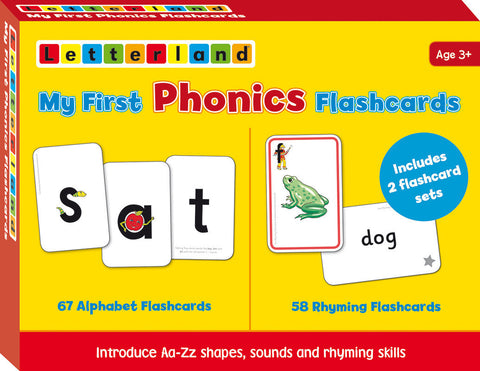 My First Phonics Flashcards