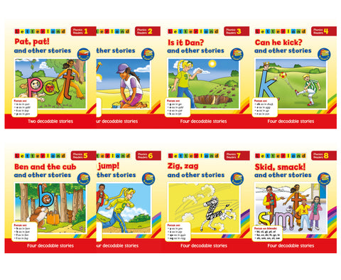 Phonics Readers - Red Series