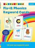 Fix-it Phonics - Level 2 - Keyword Cards (2nd Edition)