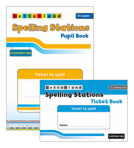 Spelling Stations 2 Pupil Pack