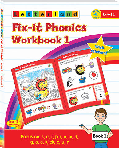 Fix-it Phonics - Level 1 - Workbook 1 (2nd Edition)