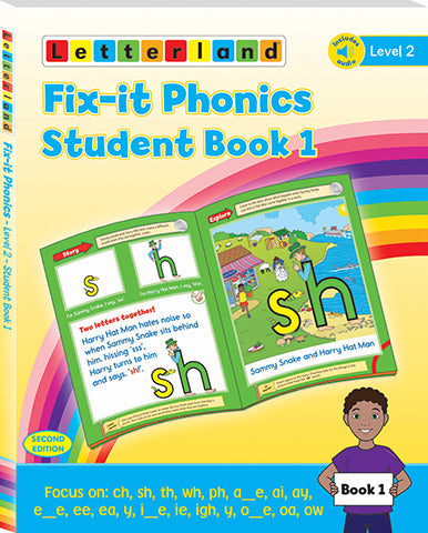 Fix-it Phonics - Level 2 - Student Book 1 (2nd Edition)