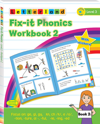 Fix-it Phonics - Level 3 - Workbook 2 (2nd Edition)