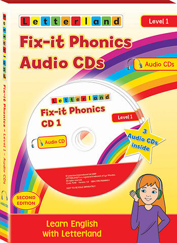Fix-it Phonics - Level 1 - Audio CD Pack (2nd Edition)