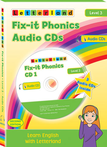 Fix-it Phonics - Level 3 - Audio CD Pack (2nd Edition)