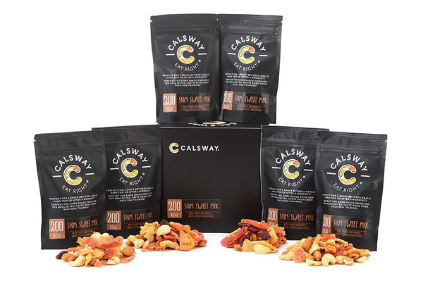 (Pack of 6) 200 Calories SIAM SWEET Nuts and Fruits Mix by Calsway