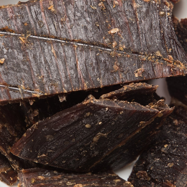 (Pack of 6) 100 Calories ORIGINAL Taste ALPINE BEEF JERKY by Calsway